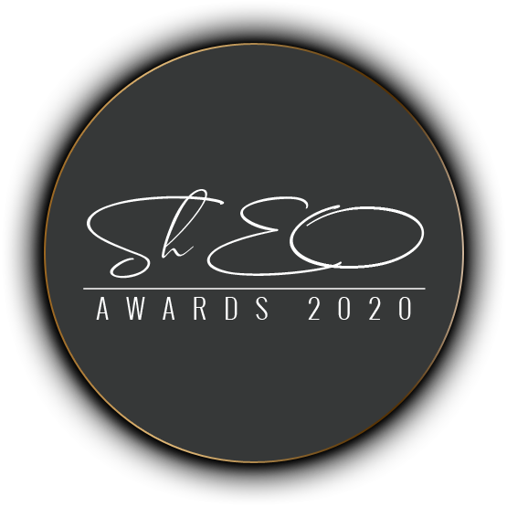 "logo ""ShEO Awards"" 2020"